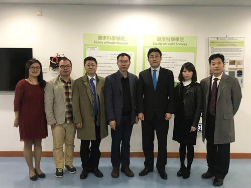 中国疾病预防控制中心代表团到访澳大– 澳门特别行政区政府入口网站